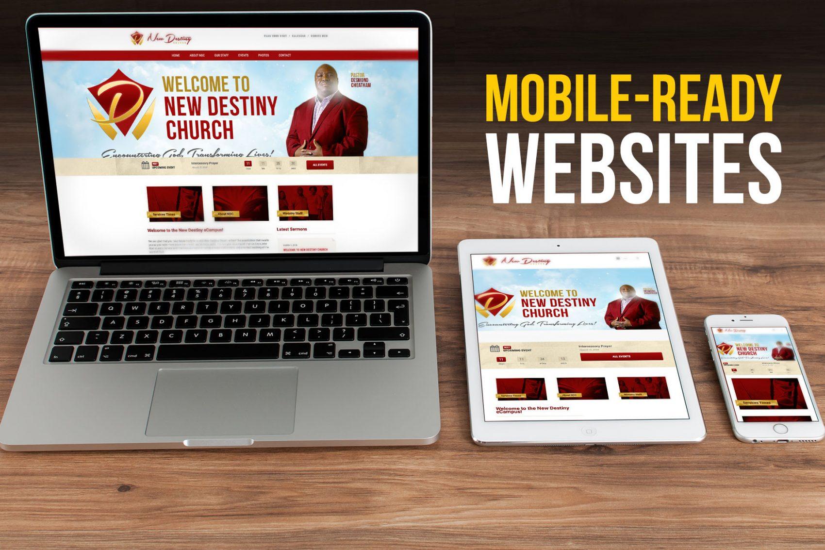 mobile ready website